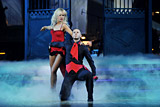 Matt Pokora and Katrina Patchett Paso doble