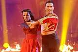 Shy'm and Maxime Dereymez Paso doble