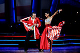 Philippe Candelero and Candice Pascal Paso doble